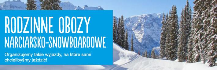 Narty - snowboard - Rodzinne obozy narciarskie z GYM generation