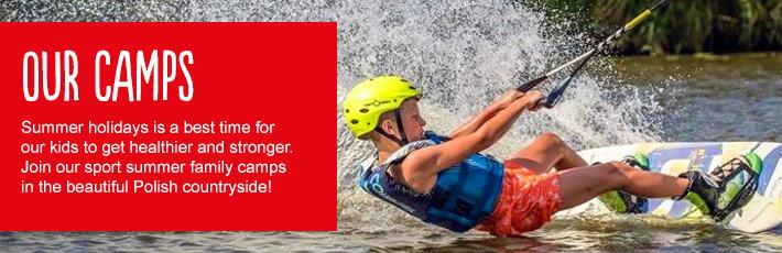 Dołącz do naszych wakacyjnych sportowych obozów w Warszawie i na wsi