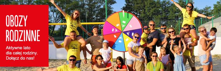 Dołącz do naszych wakacyjnych sportowych obozów rodzinnych